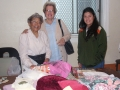 Rummage Sale_Miriam Harris and shoppers