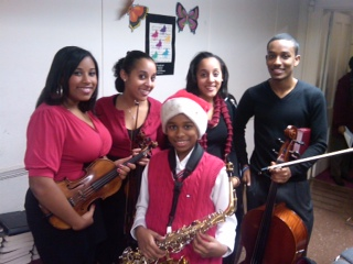 Nicole, Alexis, Chelsea, Jordan and Joshua – Youth Orchestra