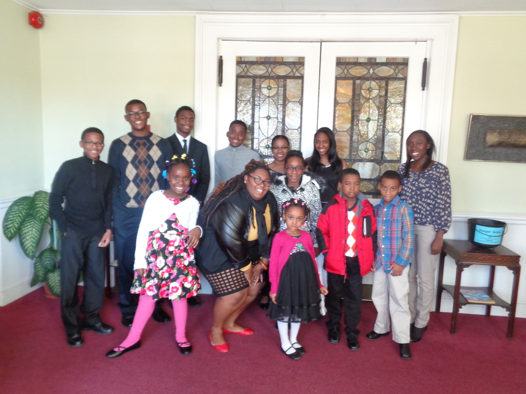 Pictured above: (Back Row) Jonathan McCullers, Jordan McCullers, Dylan Donaldson, Dylan Donaldson, Alex Benjamin, Chrystelle Gooding, Zoe Gomes, Michelle Samuel. (Front Row) Jasmine Graham, Shari Bailey, Shaniyah Graham, Tamia Page, Jeremy McKenzie, and Kayden Andall.